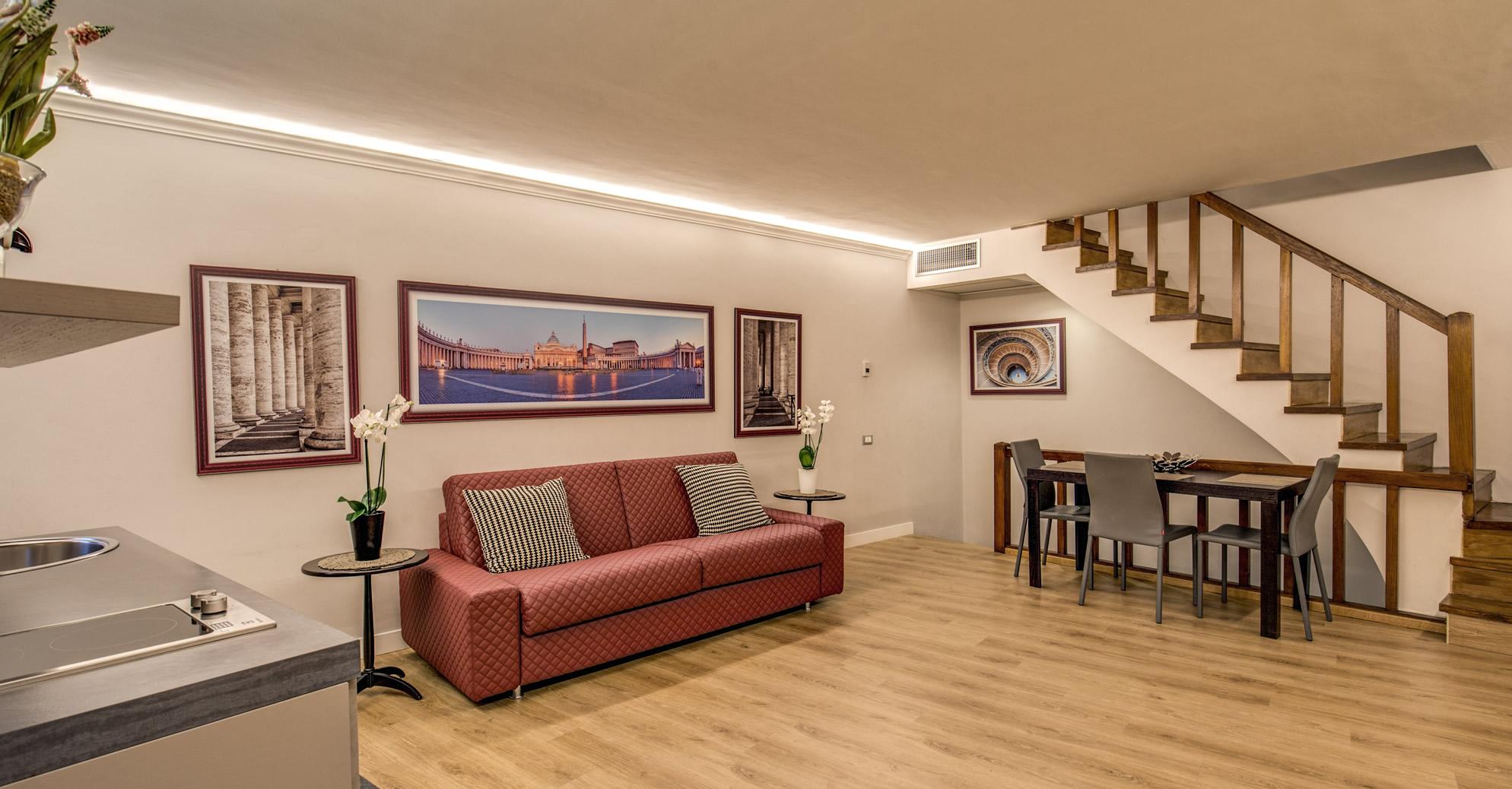 Hisuiteroma appartamento due camere da letto hisuiterome - Camere da letto roma ...